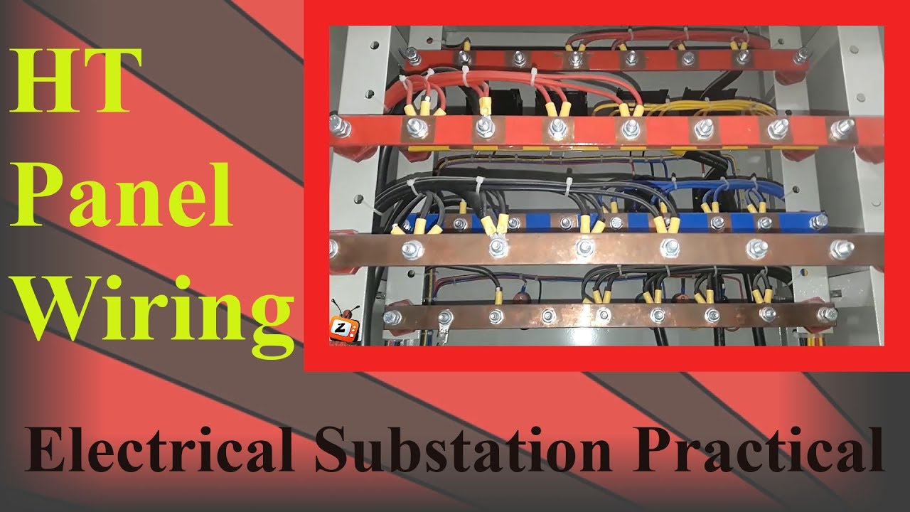 small resolution of ht panel wiring inside wiring for a 33kv ht panel in a substation practical engineeringht panel
