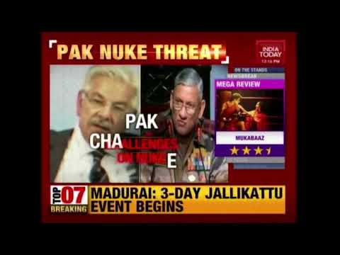 Pak Foreign Minister Warns Of Nuclear Attack On India If Necessary