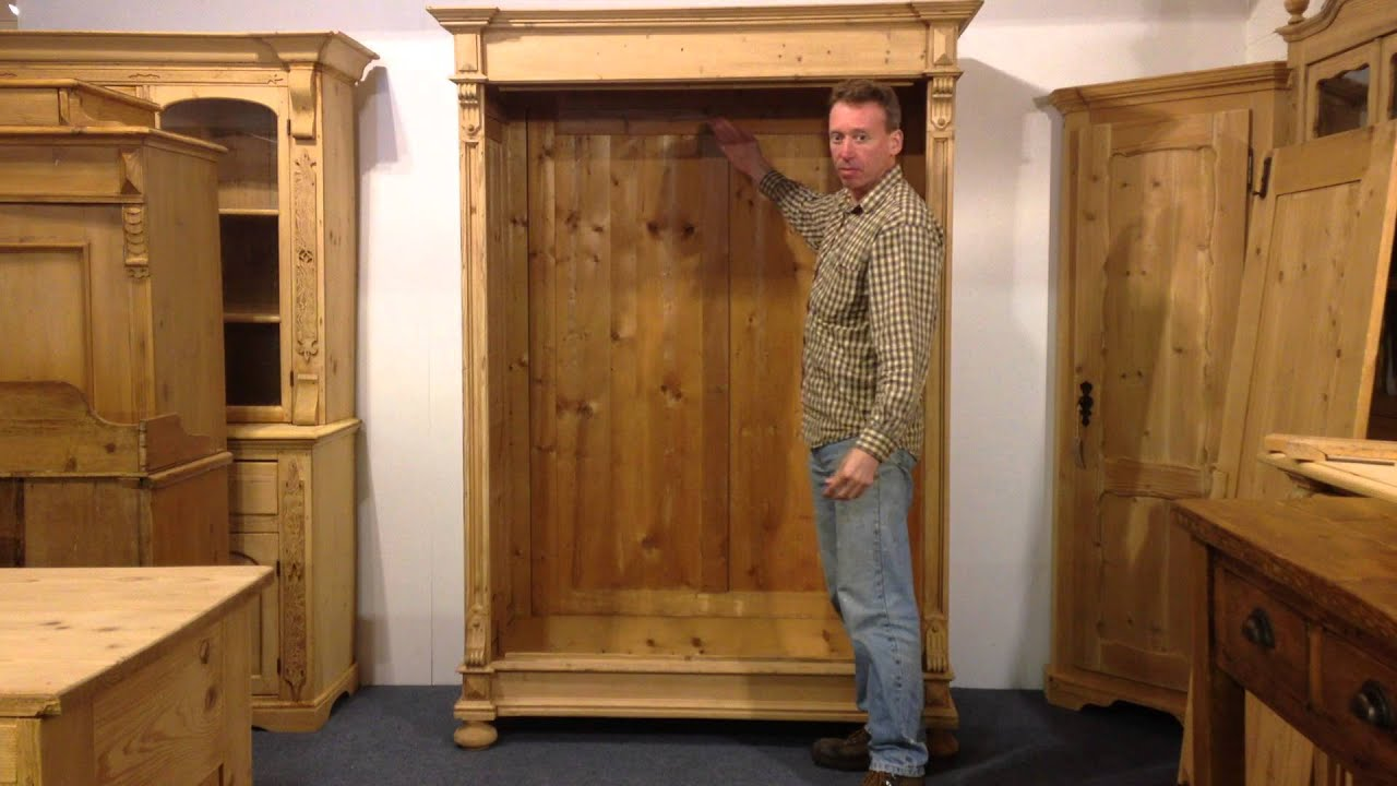 How to assemble an old pine wardrobe pinefinders old for C furniture warehouse