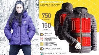 Top 5 - Smart Jackets You Should Buy || Best Digital, Waterproof, Heated & Travel Jackets Ep  #02