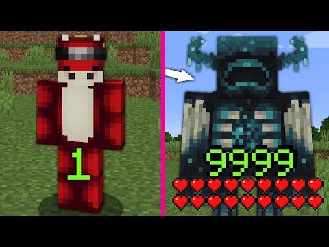 Minecraft mais mon XP = Une Transformation...