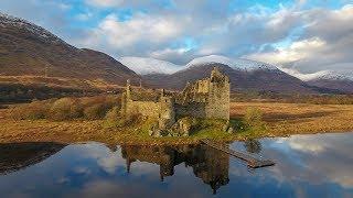 Scottish Castles - Mavic Pro & Phantom 4 drone footage