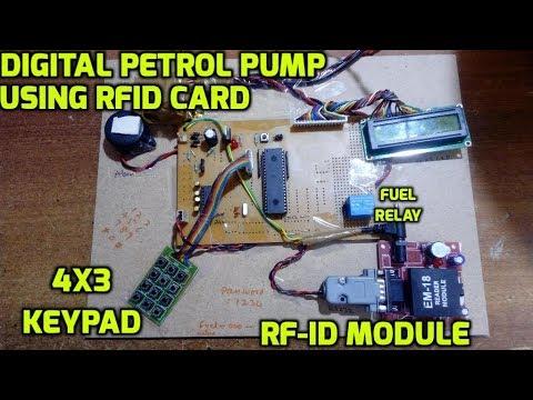 Digital Petrol Pump using RFID Card