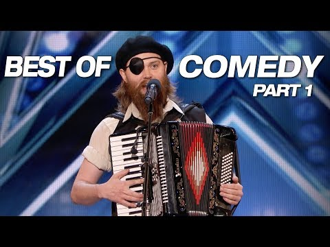 Some Of The Best Comedians Ever! - America's Got Talent 2018