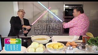 TORTILLA PATATAS Star Wars | Alberto Chicote y Arturo Parroquia