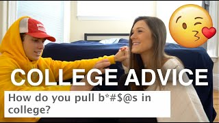 COLLEGE ADVICE: How To Pull Hot Girls