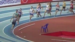 Чемпионат России. Бег 1500 метров