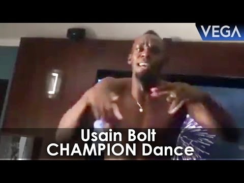 Usain Bolt Dancing On Dj bravo champion Song...