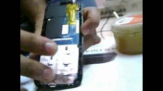 How to Change Display of a Mobile Phone / How to Soldering a Display of a Mobile