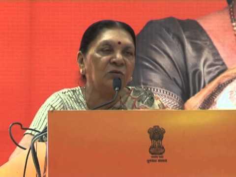 Anandiben Patel addresses government officials at Inaugural Session - Chintan Shibir 2015