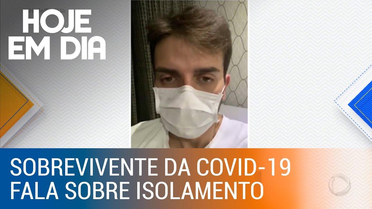Sobrevivente da Covid-19 conta o drama de quem convive com a doença
