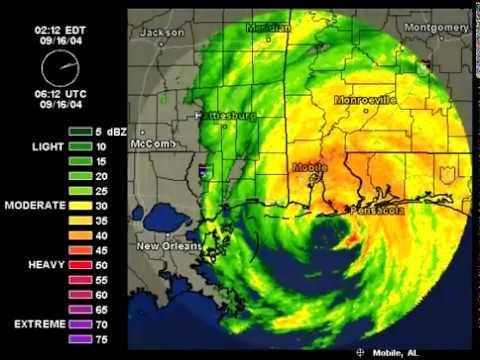 2004 - Hurricane Ivan Strikes Sep  2004
