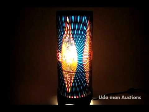 rotating motion lamp c - YouTube