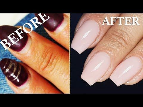Dry Manicure+Combo, How to clean perfectly cuticle gel nails
