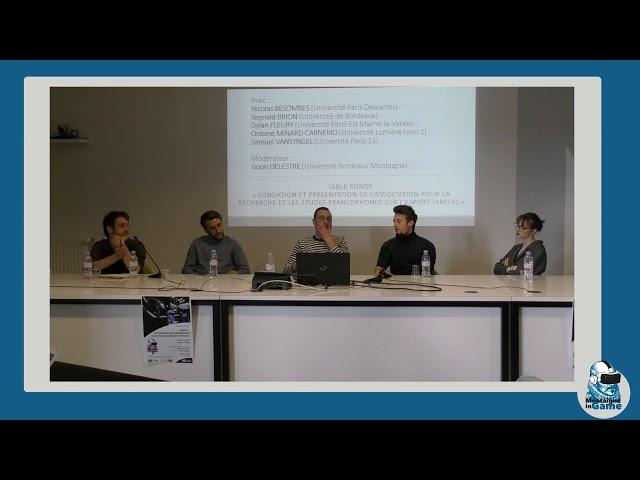 JE MiG 19/03/19 - Table ronde \: Fondation et présentation de l\'AREFE