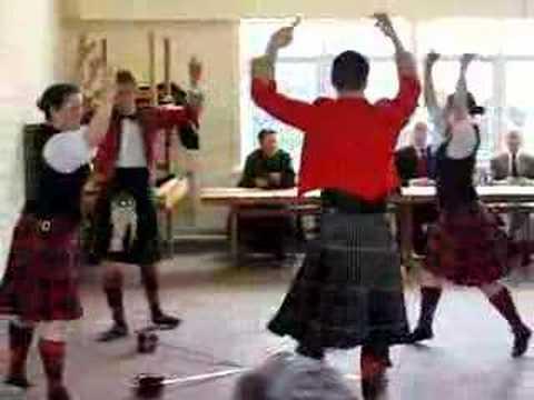 GSUOTC Highland Dancers Argyll Broadswords 1