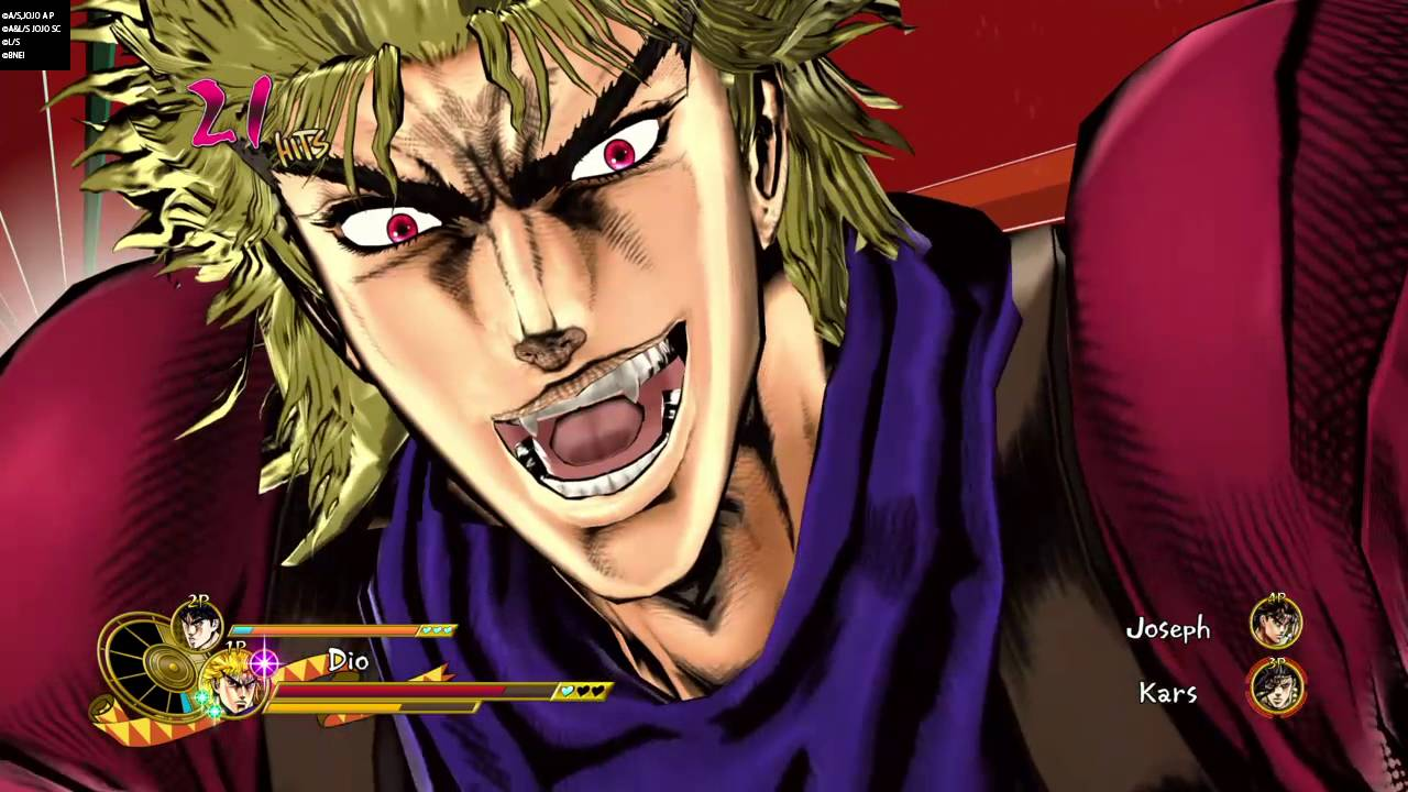 jojo s bizarre adventure eyes of heaven dio brando jonathan vs