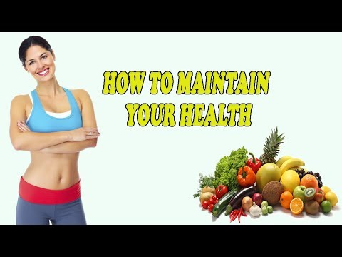 how-to-maintain-your-health-|-tips-for-starting-a-healthy-lifestyle!-|-good-health-tips