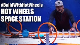 Mad Stuff With Rob - #BuildWithHotWheels - Space Station | Hot Wheels