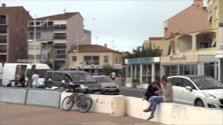 France - Sérignan - Camping Mas des Lavandes**** - Août 2015 - Le port et le marché de Valras-Plage