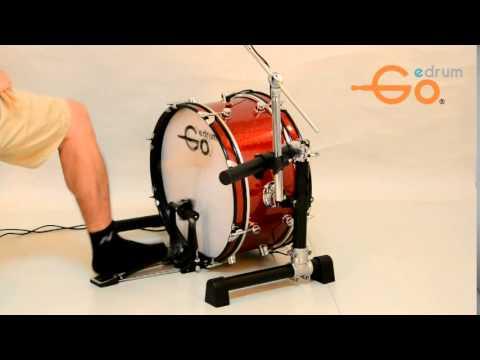 goedrum 18 inch bass drum demo youtube. Black Bedroom Furniture Sets. Home Design Ideas