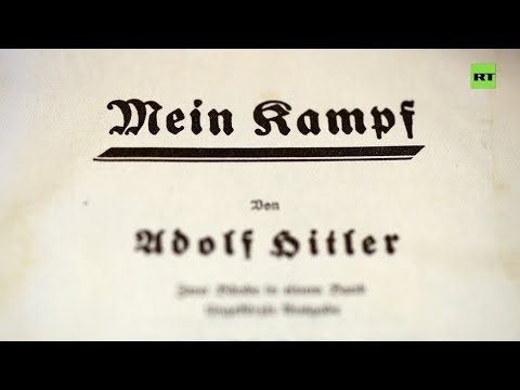 'Mein Kampf': Hitler's Manifesto To Hit French Stores In 2020