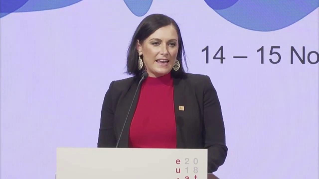 Preisverleihung der European Business Awards for the Environment EBAE 2018-2019, Wien, Österreich