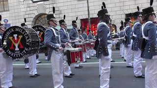 St. Patrick's Day Parade~2018~NYC~Virginia Military Institute~NYCParadelife
