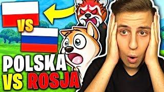???? POLSKA VS ROSJA w FORTNITE