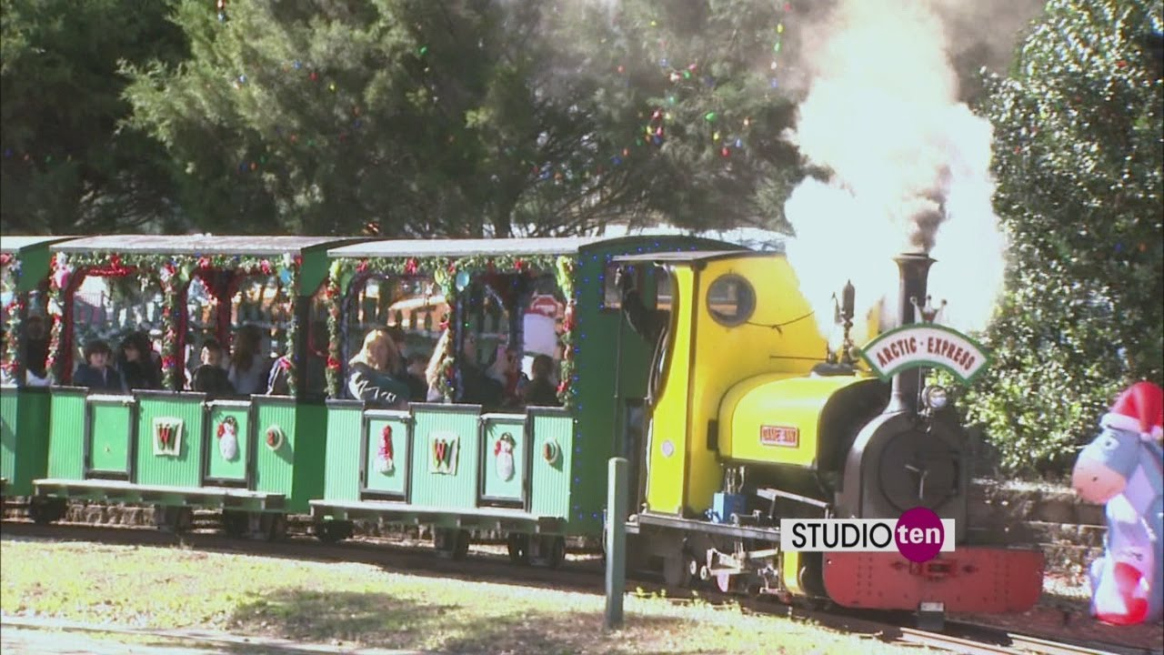 Wales West Halloween 2020 Studio 10: Arctic Express at Wales West   YouTube