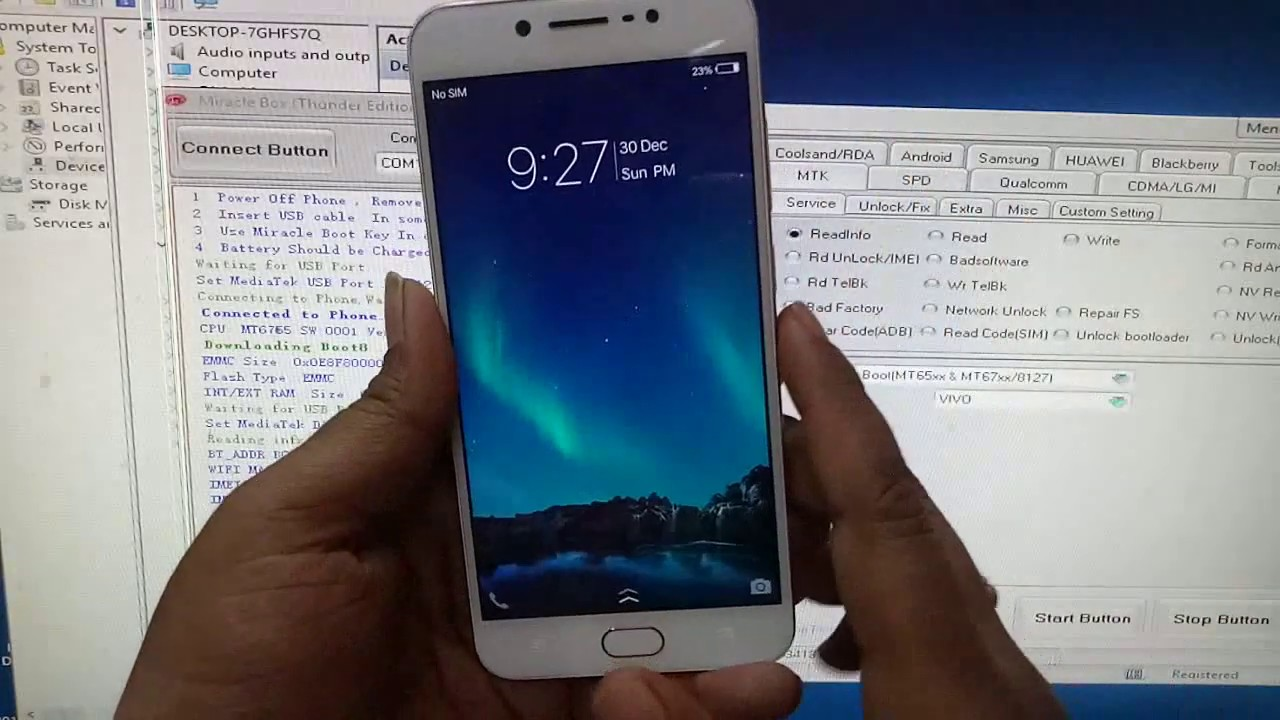 Vivo V5S Pattern Lock Factory Reset & Frp Remove Ok By Miracle 2 58 Crack