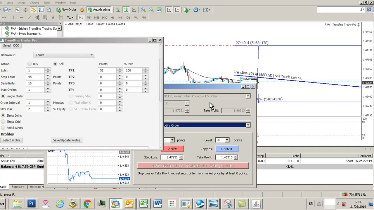 binary trading options demo account metatrader automated trading