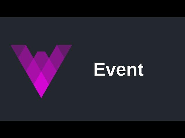 Event | Vyper (0.2)