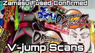 Merged Zamasu Confirmed | Dragon Ball FighterZ (Fused Zamasu V-jump Scans)