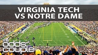 Virginia Tech Hokies vs Notre Dame Fighting Irish Week 12 | The Odds Couple | College Football Picks