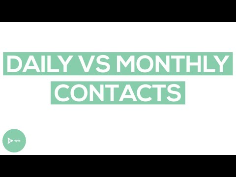 Daily vs Monthly Contact Lenses: Weighing the Pros and Cons