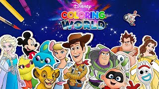 Disney Coloring World - Now featuring The Lion King