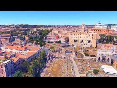 Roma - Foro Romano - Falso Phantom DJI