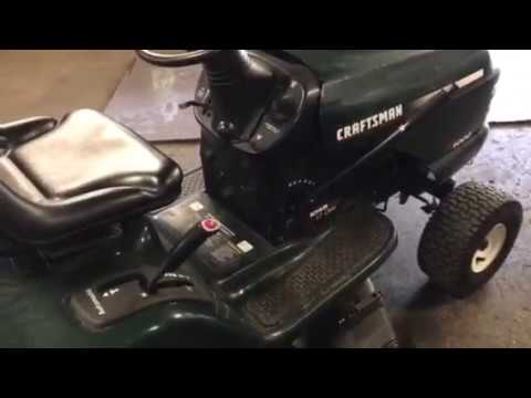 How to Remove a Sears Craftsman 42