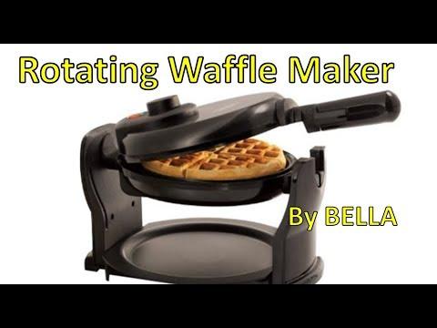 Bella Belgian Waffle Maker Unboxing & Review