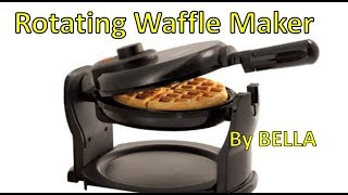 Bella Belgian Waffle Maker Unboxing & Review