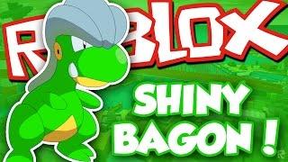 GETTING SHINY BAGON!! pt. 1 / Roblox Pokemon Brick Bronze