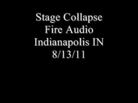 Stage Collapse State Fire Indianapolis IN