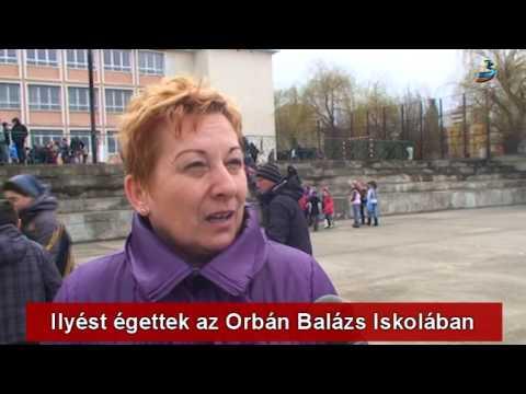 Ilyést égettek az Orbán Balázs Általános Iskolában - YouTube