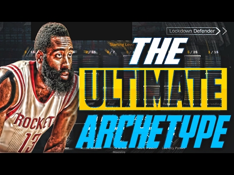 THE ULTIMATE ARCHETYPE!! How to create the BEST PLAYER IN NBA 2K17!!