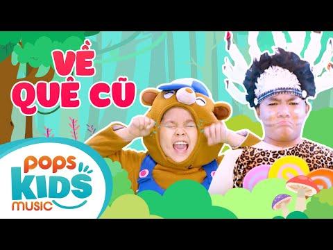 Mầm Chồi Lá - Về Quê Cũ | Nhạc thiếu nhi hay cho bé | Vietnamese Kids Song
