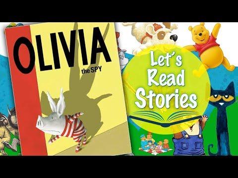 Olivia the Spy – Story Books for Kids Read Aloud – Olivia Stories for Children