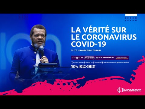 La vérité sur le CORONAVIRUS COVID-19. Pasteur MARCELLO TUNASI culte du 18 mars 2020