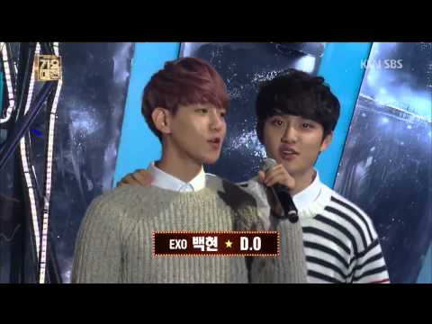 131229 SBS 2013가요대전 Sleigh Ride Opening EXO Cut