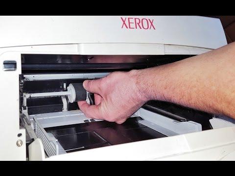 Быстрый способ замены ролика подачи бумаги \ Fast way of replacement of a roller of supply of paper